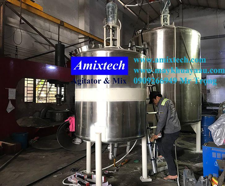 bồn khuấy hóa chất công nghiệp tank-10