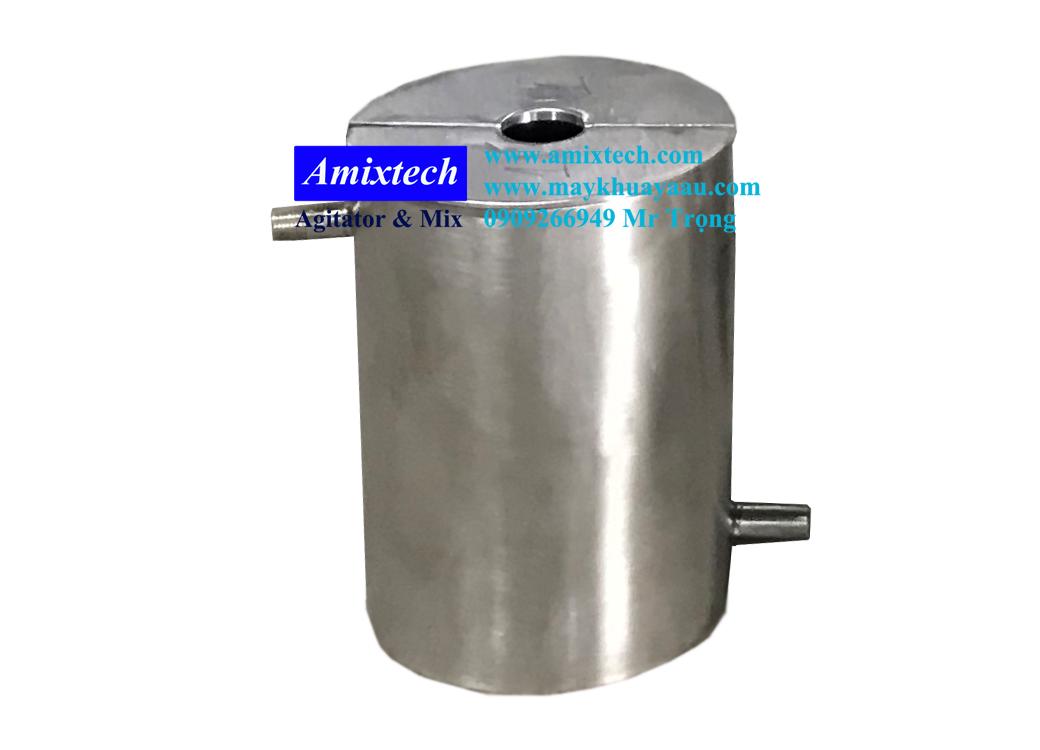 cốc thí nghiệm giải nhiệt 2 lớp bằng inox