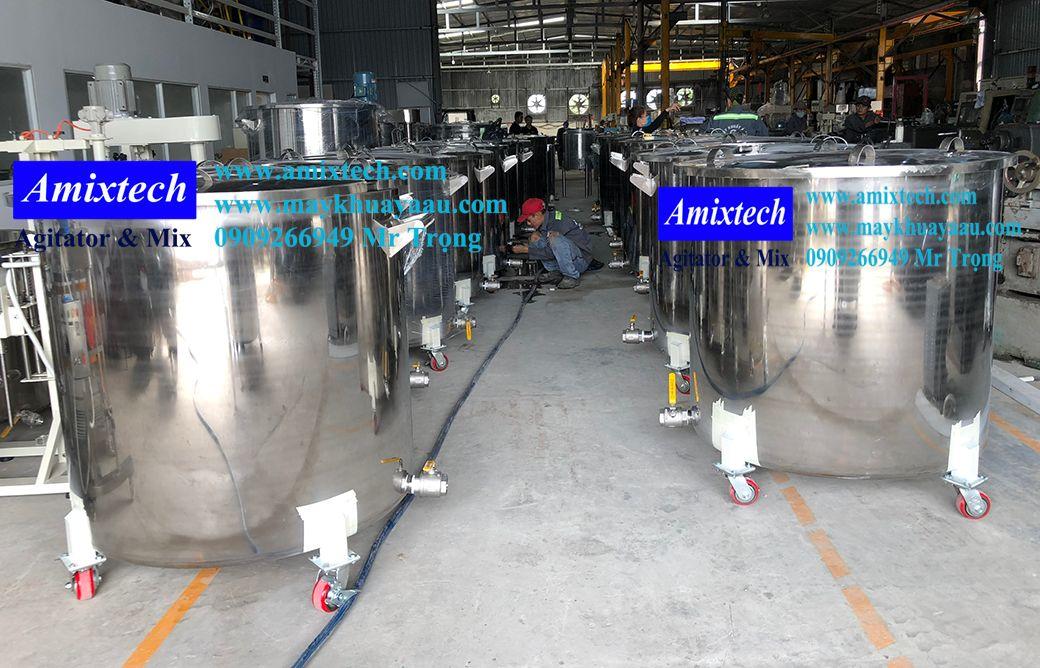 bồn chứa sơn công nghiệp