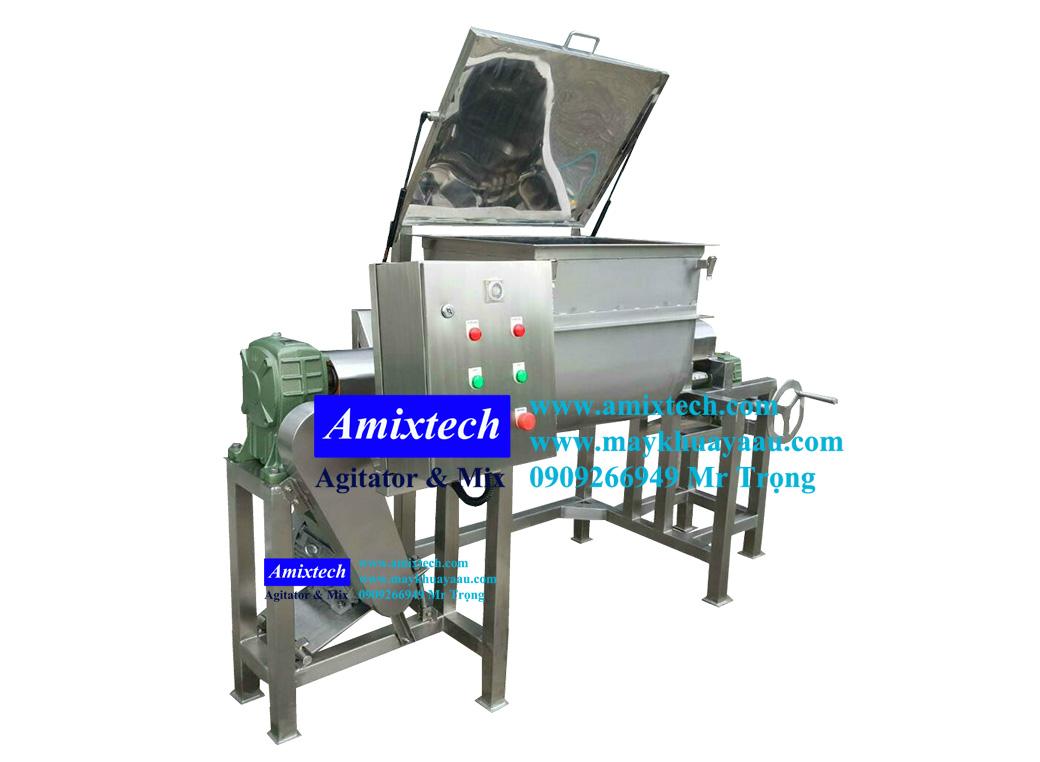 máy trộn bột thực phẩm nằm ngang Mix-AT02
