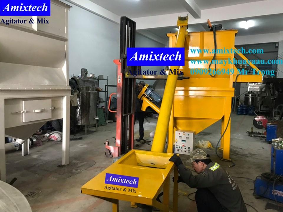 máy trộn bột 2 tầng 500kg